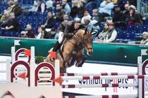 Sieger im Partner Pferd Cup - Andreas Kempf mit Cora Foto: Frieler
