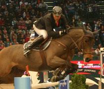 Gewannen die Leipziger Weltcupqualifikation - Partice Delaveau und Lacrimoso - Foto bb