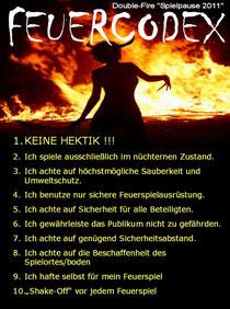 """""""FEUERCODEX"""" - Double-Fire-Mainz"""