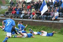 Mit voller Euphorie ging die Schönthaler Boygroup in die neue Spielklasse