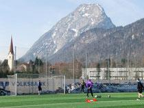 Optimale Trainingsbedingungen am Fuße des Kaisergebirges