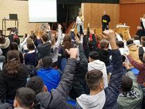 Erste Schulversammlung am Otterstein