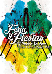 Feria y Fiestas de Pedro Muñoz 2015 Cartel y programa