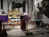 Konzert Bachmanning, mit Marianne Gesswagner