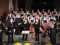 Konzert Wels, mit dem Singkreis Steinhaus, Marianne Gesswagner und Herbert Scheiböck