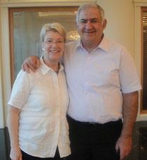 Petra Merkel and Yuval Doron