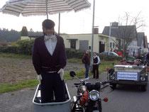 Der Hannes im Beiwagen