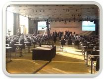 1 Stunde vor der Eröffnung des DFB Wissenschaftskongresses