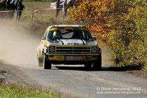 Berlandy/Schaaf im Opel Ascona A.