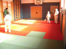 Neue Judomatten im VS Turnsaal