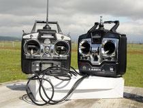 Radiocommandes pour l'écolage