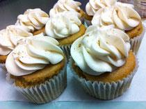GF Orange Cardamom Cupcakes, Image: Dulce Vegan