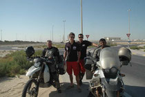 Ein paar Österreicher in Abu Dhabi.