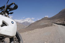 Muktinath liegt auf 3 800 m.