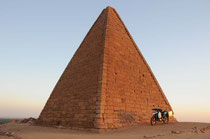 Die Pyramiden von Karima.