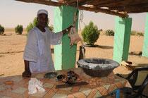 Küche im Sudan.