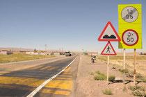 Verkehrsvorschriften gibt's auch im Iran.