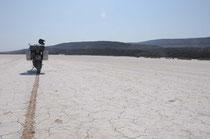 Kurz nach dem überqueren der Grenze nach Dschibuti.