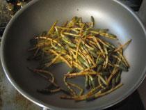 土筆 調理 料理 画像 写真