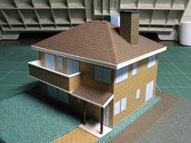 タバコ 箱 家 模型 住宅