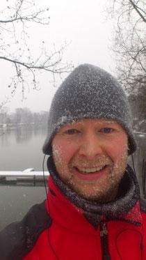 in Duisburg ist es winterlich kalt