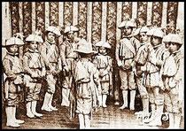 Los Seises Postkarte aus Sevilla von 1885