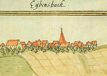 Eibensbach um 1690