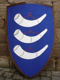 das Wappen Gottfrieds v. Neuffen