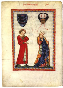Gottfried im Codex Manesse