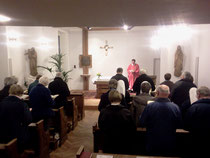 Herbst und Winter 2013/2014 sind wir zu Gast in der Kapelle