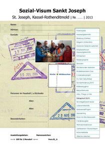 Unser Sozial-Visum will Ihnen helfen, wenn Sie in Not sind!
