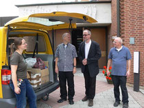 Abholung und Gemeindebegegnung im August 2013