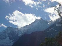 Dom, höchster Schweizerberg (der höchste auffällige Spitz)
