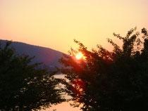 Sonnenaufgang am Wörthersee Juni 2011