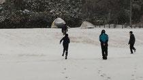 雪中キャンプ(2月9日)