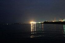 夕方のマッドウォーターでブラックバス釣り