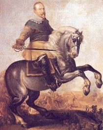 Gustav II. Adolf (Lizenz: gemeinfrei)