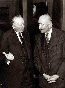 Für Europa: Adenauer und Schuman