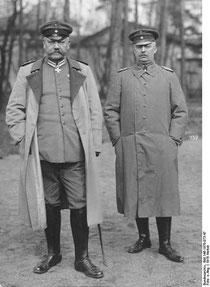 Hindenburg und Ludendorff (Foto: Bundesarchiv)