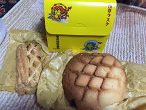 浅草メロンパンと浅草ラスク