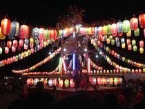 舎人氷川神社のお祭り