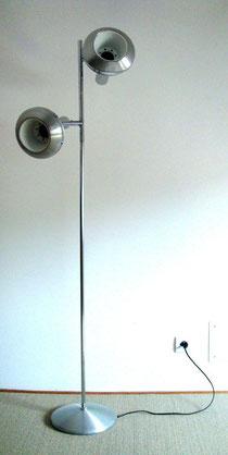 Lampadaire chrome vintage