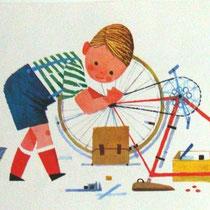 """Illustrations affiches d'école """"je veux lire"""" recto/verso"""