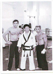 Vincent Gédéon, Lee Kwan Young et Robert