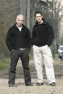 Robert et Eric Quequet
