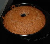 Kuchen mit Backpulver