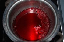 Eingekochter Rote Bete Saft