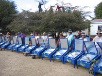 Forns solars a Bolivia