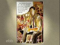 """coco-schumann wurde im frühjahr 2014 neunzig Jahre alt. Der RBB berichtete über die liebenswerte Jazz-Legende. Und eine neue Graphic-Novel über sein Leben mit dem Titel """"I got Rhythm"""" © niels-schröder"""