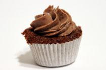 Schokoladen-Cupcake